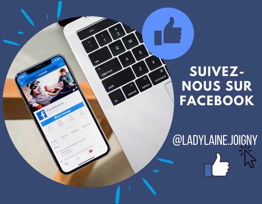 Retrouvez Ladylaine sur Facebook
