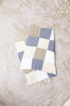 Kit tricot couverture en coton Tissa de Lang Yarns