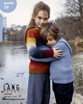Catalogue Lang Yarns Punto N° 28 - Mérino 150 et 150 color - enfants