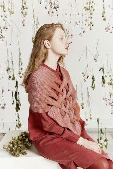 Kit tricot Carina N°1 Chauffe-épaules