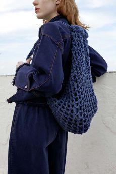 Kit tricot, sac à dos, laine Hope Wooladdicts Lang Yarns