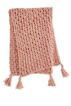 Kit tricot écharpe, modèle 13 du catalogue Wooladdicts N°6, coton Liberty