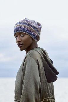 Fiche explicative, modèle bonnet en Dipinto de Lang Yarns