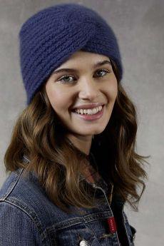 Kit tricot, laine Lang Yarns Cashmere Light - bonnet
