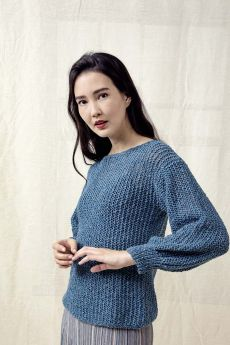 Modèle à tricoter Laine et coton Kylie