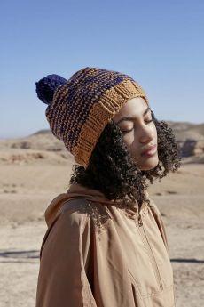 Modèle à tricoter bonnet laine Fire Wooladdicts by Lang Yarns