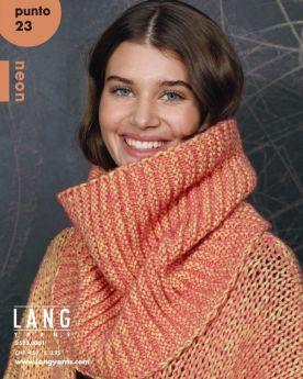 Catalogue Lang Yarns Punto N° 23, spécial laine Néon