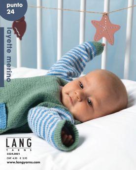 Catalogue Lang Yarns Punto N°24 spécial layette