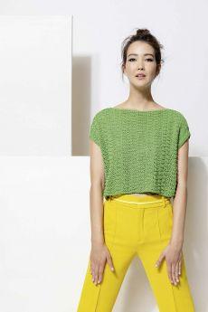 modèle à tricoter, coton Copenhagen de Lang Yarns