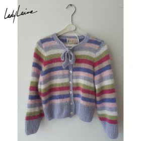 Gilet enfant de 4 ans en angora de Rowan, tricoté à la main
