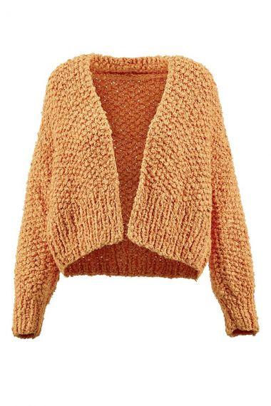 Kit tricot Liberty Wooladdicts N°3 Gilet-S