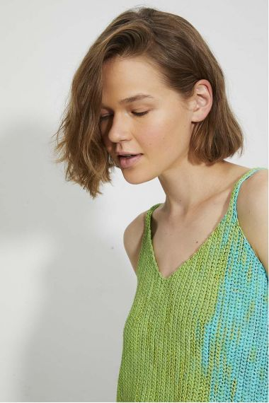 Kit tricot Bloom N°2 Débardeur-M