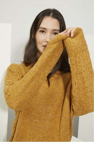 Kit tricot Kylie N°2 Pull raglan-M