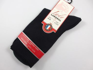 Chaussettes Labonal Référence 58078-Coloris- marine Taille 36/38