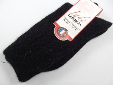 Chaussettes Labonal Référence 58114-Coloris- noir taille 36/38