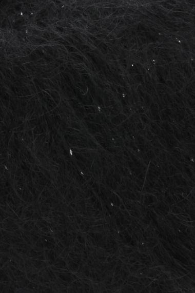 Laine Lang Yarns Mohair Luxe Lamé-Couleur- 0004 noir
