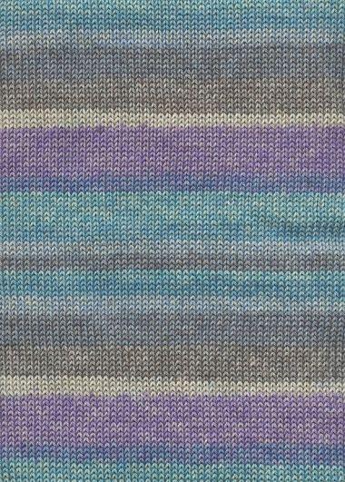 Laine Lang Yarns Quattro Color - coton-Couleur- N° 812.0055