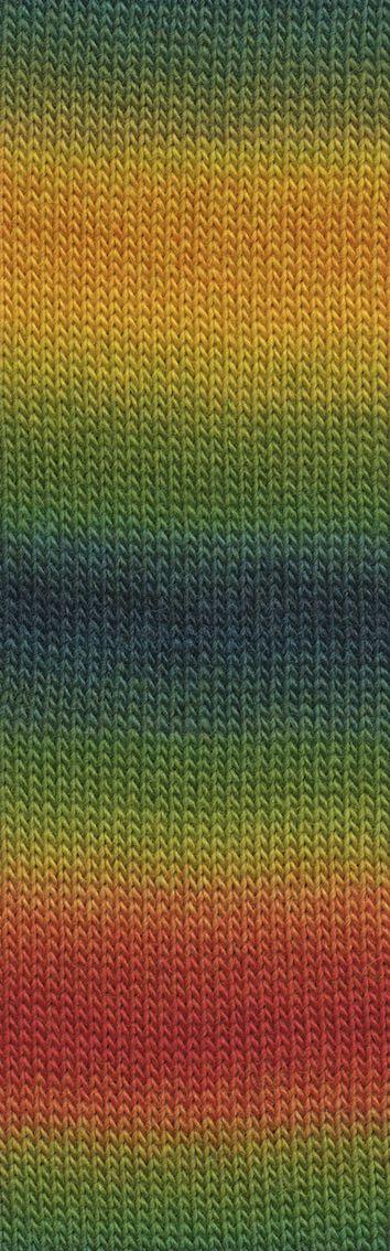 Laine Lang Yarns Jawoll Magic Dégradé-Couleur- 0056