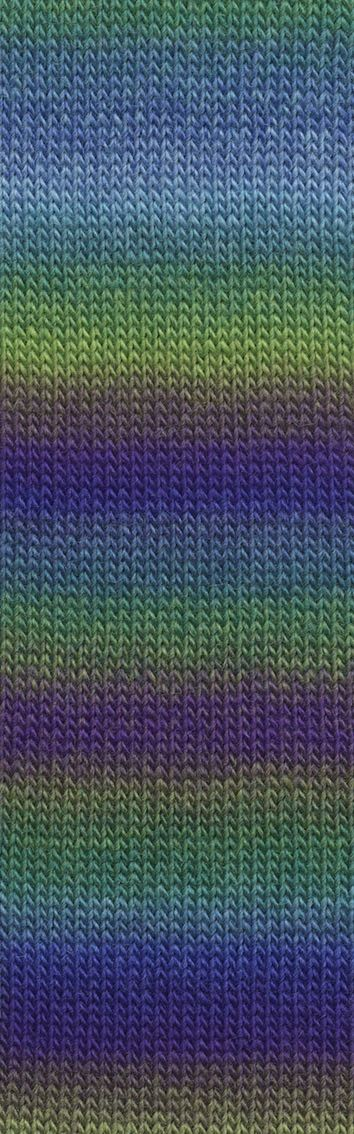 Laine Lang Yarns Jawoll Magic Dégradé-Couleur- 0118