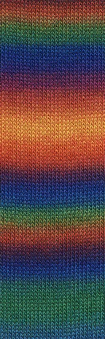 Laine Lang Yarns Jawoll Magic Dégradé-Couleur- 0151