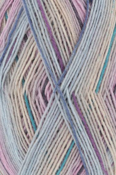 Laine Lang Yarns Super Soxx Color - 4 fach-Couleur- N°901.0287