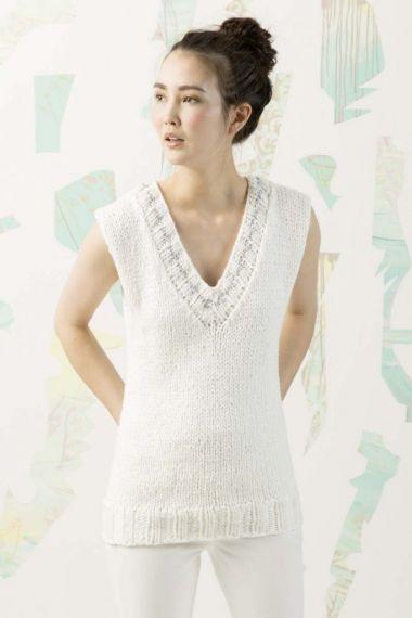 Kit tricot Amira N°2 Débardeur-XL