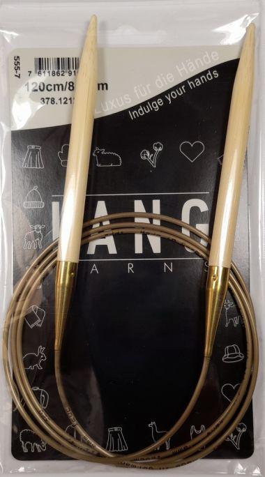 Aiguilles circulaires bambou Lang Yarns 120 cm-10 mm