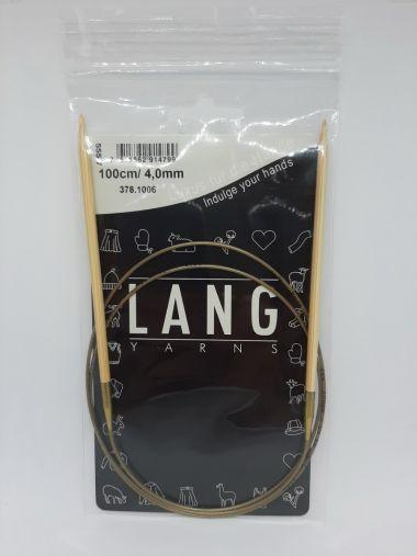 Aiguilles circulaires bambou Lang Yarns-4 mm