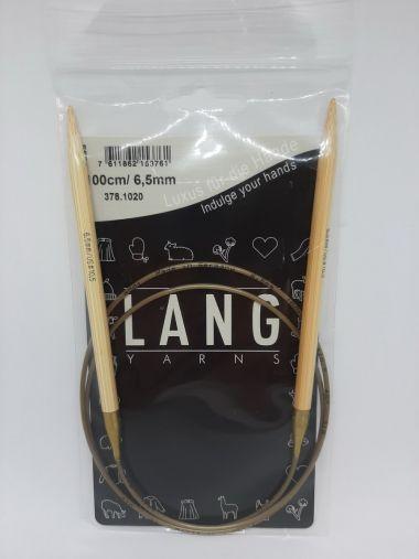 Aiguilles circulaires bambou Lang Yarns-6.5 mm
