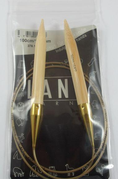 Aiguilles circulaires bambou Lang Yarns-12 mm