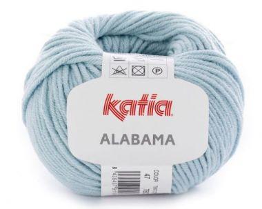 Laine Katia coton Alabama_Coloris- 47 bleu