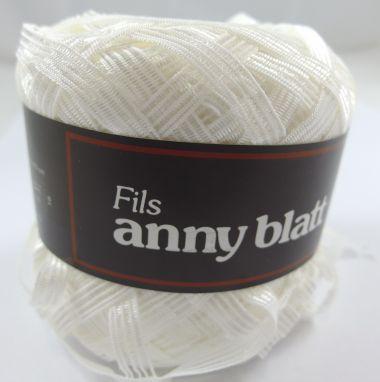 Laine Anny Blatt Berlingot-Couleur- blanc