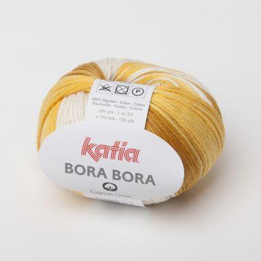 Laine Katia Bora Bora - coton-Couleur- N° 104