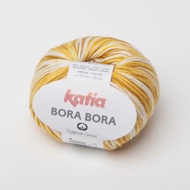 Laine Katia Bora Bora - coton-Couleur- N° 54