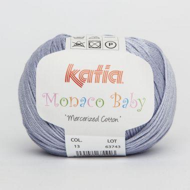Laine Katia Monaco Baby - Couleur- N° 13