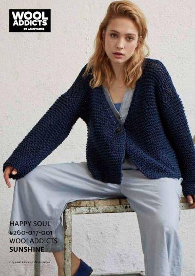 Kit tricot Sunshine N°4 - wooladdicts Happy Soul-M