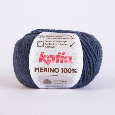 Laine Katia Mérino Cent %-Couleur- 53