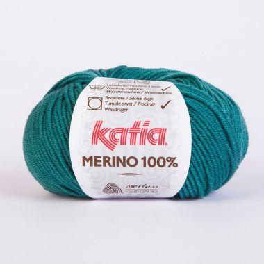 Laine Katia Mérino Cent %-Couleur- 54