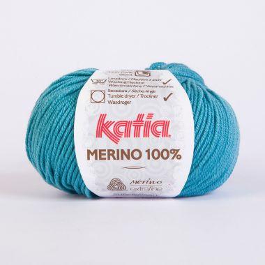 Laine Katia Mérino Cent %-Couleur- 55