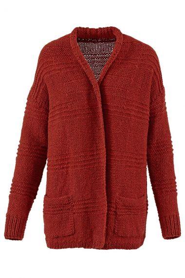 Kit tricot earth de Wooladdicts N°1 - gilet-M