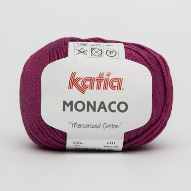 Laine Katia Monaco-Couleur- N° 45 pivoine