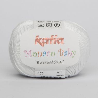 Laine Katia Monaco Baby-Couleur- N° 1