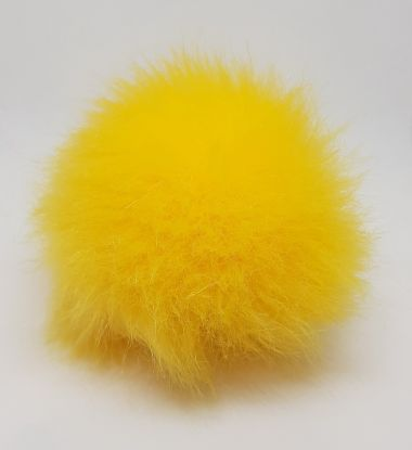 Pompon Houppe de Plassard-Couleur- jaune
