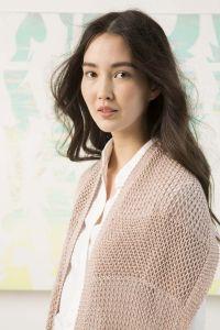 Modèle écharpe, coton Norma de Lang Yarns