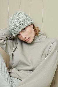 Bonnet à tricoter, laine Lang Yarns Glory