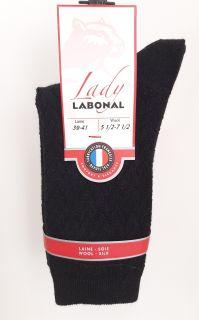 Chaussettes Labonal référence 59713 coloris noir
