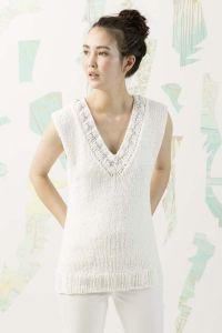 Kit tricot Amira N°2 Débardeur