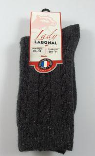 Chaussettes Labonal réf: 58114 coloris anthracite