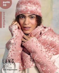 Catalogue Lang Yarns Punto N°33 spécial laine Snowflake