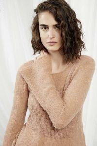 Modèle pull à tricoter, Laine Lang Yarns Alpaca Superlight